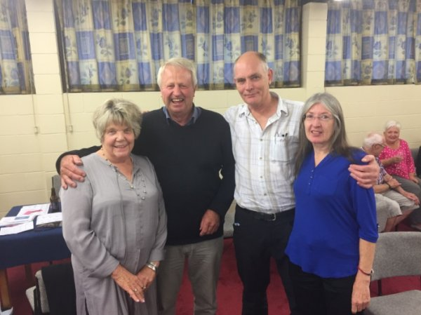 Sue Rosevear John Fechney Trish and Peter Downward 2018.jpg